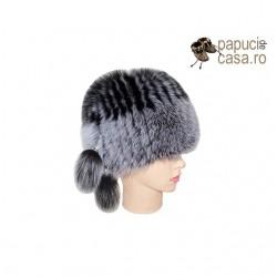 CF017 - Caciula din blana de vulpe pentru femei