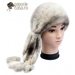 BF011 - Bereta din blana de nurca naturala pentru femei