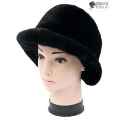 BF016 - Bereta din blana de nurca naturala pentru femei