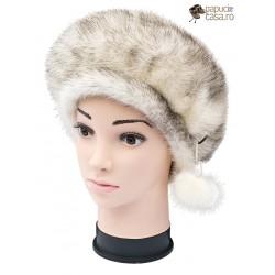 BF020 - Bereta din blana de nurca naturala pentru femei
