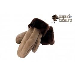 M001-Papuci casa din piele naturala barbati
